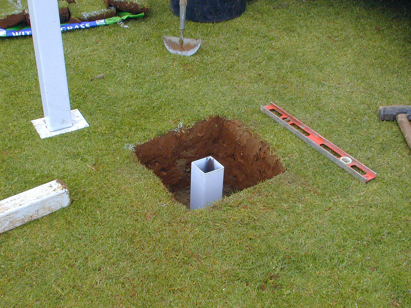 Goal Socket Fitting Services, Northamptonshire.