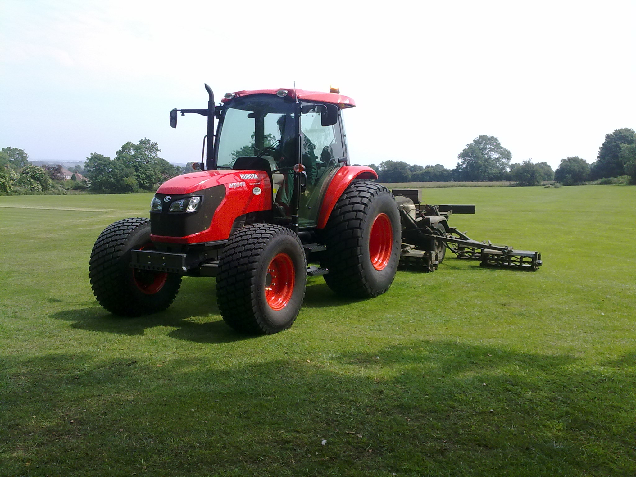 Sports fields grounds maintenance Northamptonshire