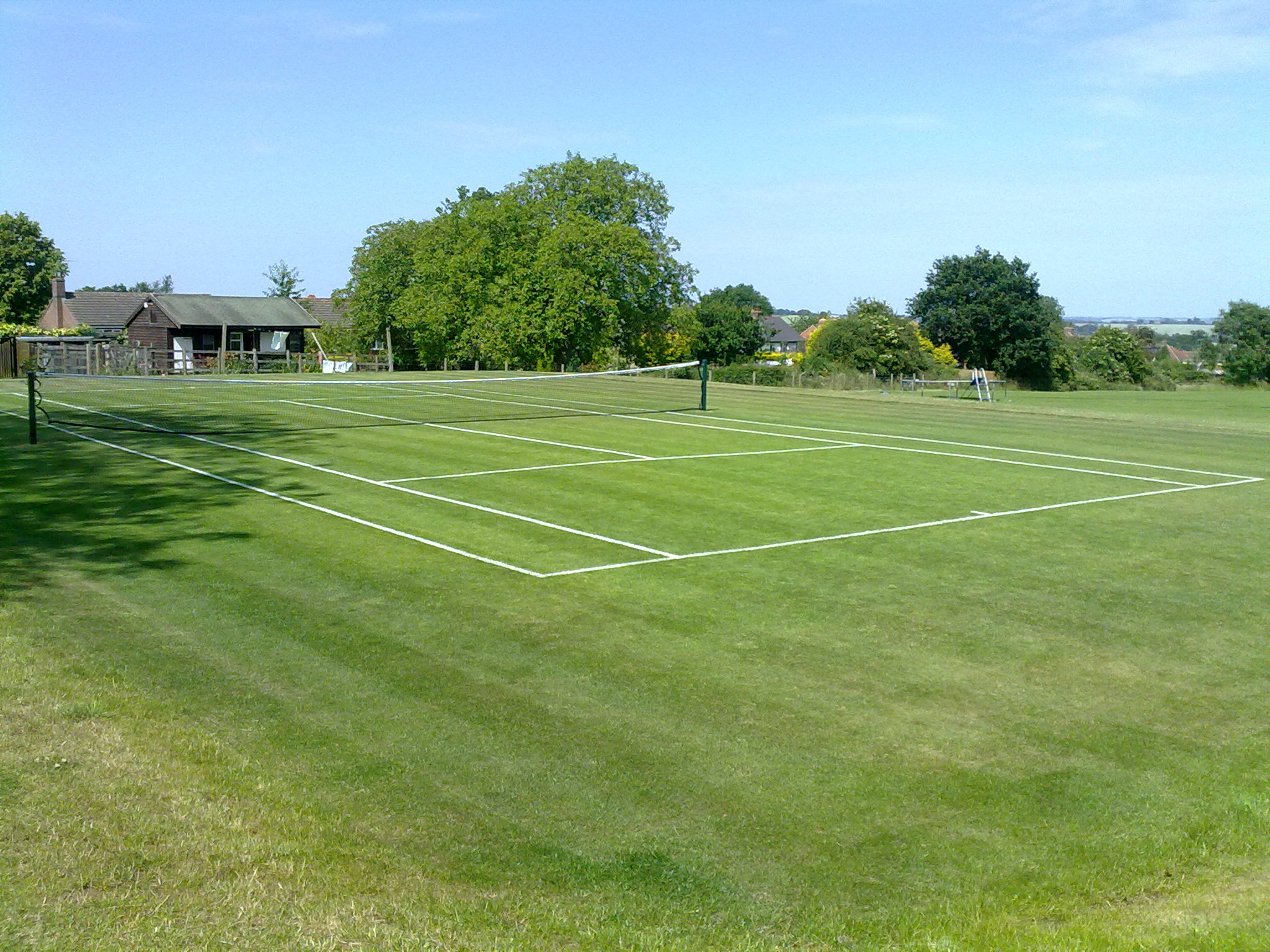 Tennis Court Grounds Maintenance, Northampton.